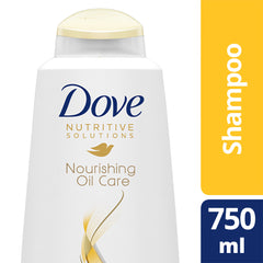 Dove Nutritive Solutions Nourishing Oil Care Shampoo 750Ml  - Urbery