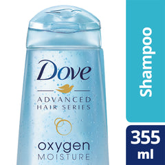 Dove Advanced Hair Series Oxygen Moisture Shampoo 355Ml  - Urbery