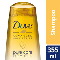 Dove Advanced Hair Series Pure Care Dry Oil Shampoo 355Ml  - Urbery