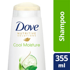 Dove Nutritive Solutions Cool Moisture Shampoo 355Ml  - Urbery