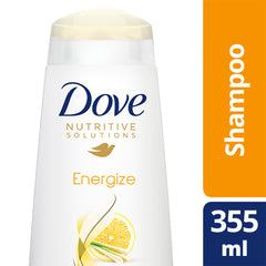 Dove Nutritive Solutions Energize Shampoo 355Ml  - Urbery