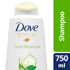 Dove Nutritive Solutions Cool Moisture Shampoo 750Ml  - Urbery