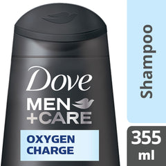 Dove Men +Care Oxygen Charge Shampoo 355Ml  - Urbery