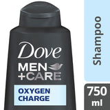 Dove Men +Care Oxygen Charge Shampoo 750Ml