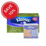 Bundled Deal Kleenex Ultra Soft Facial Tissues, 3 Ply (120 ea) + Kleenex Facial Tissues, Pocket Pack (8x1ea)