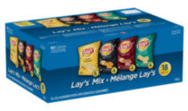 Frito Lay Multipack Lay's Mix Potato Chips (18 Bags, 504g)  - Urbery