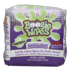 Boogie Baby Wipes, Grape Scent (90 per pack)  - Urbery
