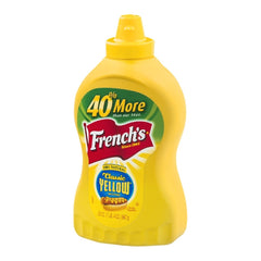French's Classic Yellow Mustard Squeeze Bottle (550ml)
