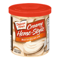 Duncan Hines Creamy Home-Style, Butter Cream (450g)  - Urbery