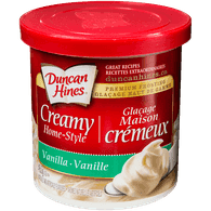 Duncan Hines Creamy Home-Style, Vanilla (450g)  - Urbery