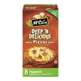 McCain Pizza Minis Deep'n Delicious Pepperoni (8 per pack - 696g)