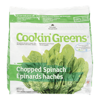Cookin Greens Chopped Spinach (500g)  - Urbery