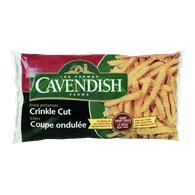 Cavendish Green Bag Fried Potatoes, Crinkle Cut (1kg)  - Urbery