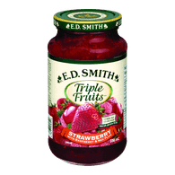 E.D. Smith Triple Fruits Strawberry Raspberry & Red Plum(500mL)  - Urbery