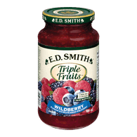 E.D. Smith Triple Fruits Wildberry Blueberry & Blackberry(500mL)  - Urbery