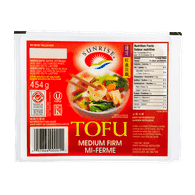 Sunrise Tofu, Medium Firm (454g)