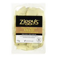 Ziggy's Ravioli Cheese & Spinach (1KG)