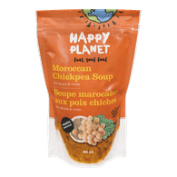 Happy Planet Organic Moroccan Chickpea Soup (650mL)  - Urbery