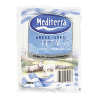 Feta Cheese, Mediterranean Greek (200g)  - Urbery