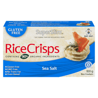 Hot Kid  Want-Want Superslim Brown Rice Crisps, Sea Salt (100g)  - Urbery