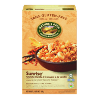 Nature's Path Sunrise Cereal, Crunchy Vanilla (300g)  - Urbery