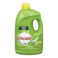Cascade Dishwashing Detergent Liquid Gel with Dawn, Lemon (3.5L)  - Urbery