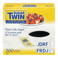 Sugar Twin Calorie-Free Sweetener, Packets (200ea)  - Urbery