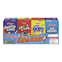 Kellogg's Fun Pac, 8 Cereal Boxes (210g)  - Urbery