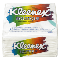 Kleenex Boutique Table Napkins, 2 Ply (75 ea)  - Urbery