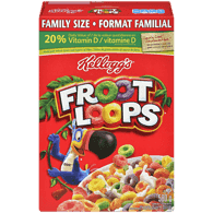 Kellogg's Froot Loops Family Size (580g)  - Urbery