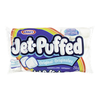 Kraft Jet-Puffed Marshmallows, Original (250g)  - Urbery