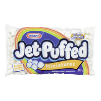 Kraft Jet-Puffed Marshmallows, Miniatures (250g)  - Urbery