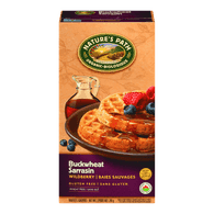 Nature's Path Waffles, Buckwheat Wildberry (210g)  - Urbery