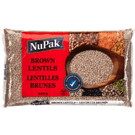 NuPak Brown Lentils (900g)