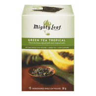 Mighty Leaf Green Tea, Tropical (15ea)  - Urbery