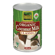 Native Forest Canned  Organic Coconut Milk (398mL)  - Urbery