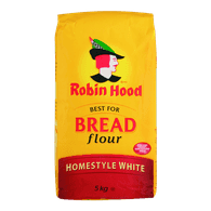 Robin Hood Best For Bread Flour, Homestyle White (5kg)  - Urbery