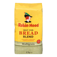 Robin Hood Best For Bread Flour Blend, Multigrain (5kg)  - Urbery