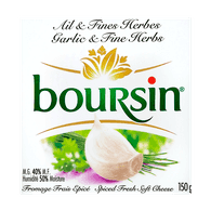 Boursin Garlic & Fine Herbs Cheese (150g)  - Urbery