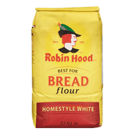 Robin Hood Best For Bread Flour, Homestyle White (2.5kg)  - Urbery