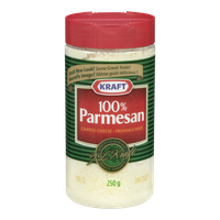 Kraft Grated Cheese Parmesan (250g)