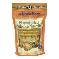 Uncle Ben's Natural Select Rice Roast Chicken & Wild Rice (365g)  - Urbery