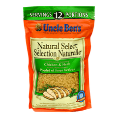 Uncle Ben's Natural Select Rice Chicken & Herb (397g)  - Urbery