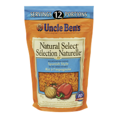 Uncle Ben's Natural Select Rice Spanish Style (397g)  - Urbery