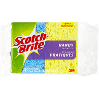 3M Scotch Brite Handy Sponges (4ea)  - Urbery