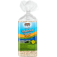 Paskesz Rice Cakes, Ultra Thin Whole Wheat Square (155g)  - Urbery