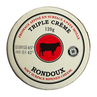 Rondoux Triple Cream Randoux Cheese (120g)  - Urbery