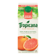 Tropicana Pure Premium Juice Ruby Red Grapefruit (1.75L)  - Urbery