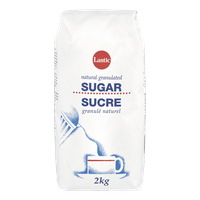 Lantic Granulated Sugar (2kg)  - Urbery
