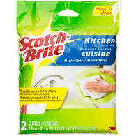 3M Scotch Brite Scotch-Brite Kitchen Cloth (2ea)  - Urbery